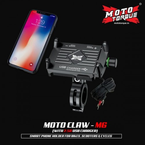 MOTO CLAW – M6 2.5A USB CHARGER